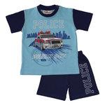 politie pyjama shortama jongens maat 62, 68, 74, 80, 86, 92, 98, 104, 110, 116, 122, 128, 134, 140, 146, 152, 164, 158, 176,