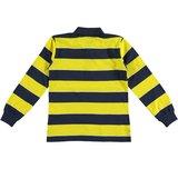 Jongesshirt maat 164 en 176 geel donkerblauw