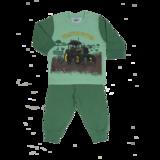 groene trekkerpyjama jongens maat 62, 68, 74, 80, 86, 92, 98, 104, 110, 116, 122, 128,