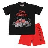 Pyjama dirksland zwart rood