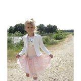 Wit zomerjasje meisjes kort model