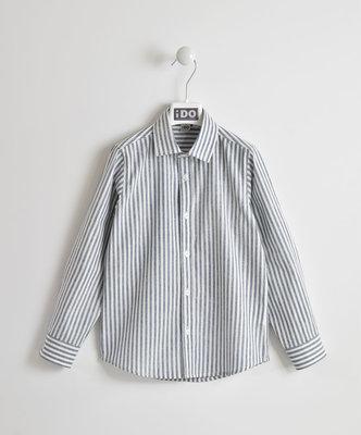 Blauw met wit gestreepte blouse iDo maat 122, 152, 164 en 176