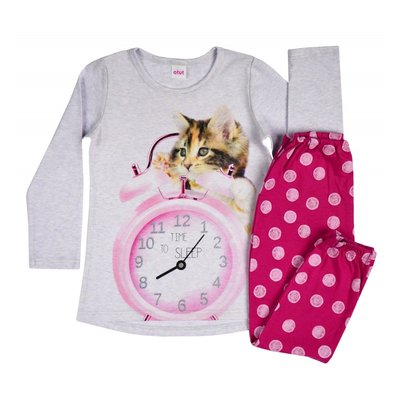 Meisjespyjama Time to Sleep