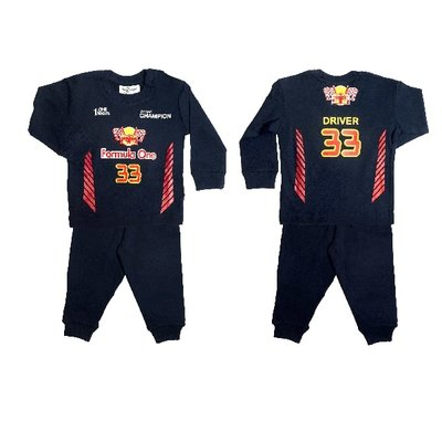 Formule 1 pyjama Fun2Wear maat 62-176