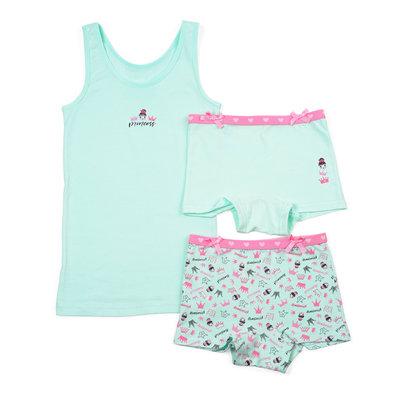 Meisjesondergoed Princess Funderwear maat 92-146