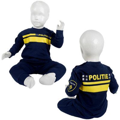 Politiepyjama's maat 92 en 98