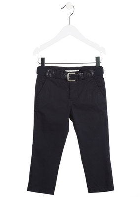 Donkerblauwe broek Chic Collection maat 140-164