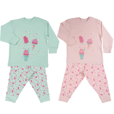 Ice Cream meisjespyjama Fun2Wear maat 62-176