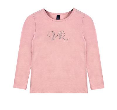 T-shirt lange mouw Vinrose 'Bri' roze maat 92