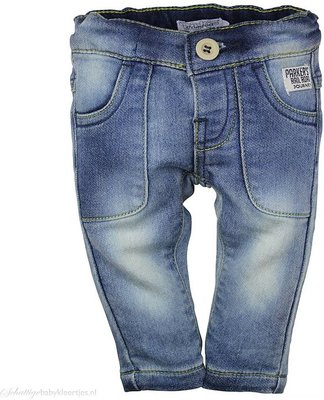 Dirkje spijkerbroekje stretch maat 56 en 74