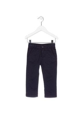 Chino broek donkerblauw jongens maat 104-116