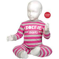 Roze boefje pyjama maat 62-80
