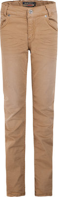 Taupe kleurige jongensbroek Blue Effects maat 128-176