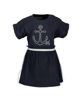 Blauw jurkje Sail maat 62-86