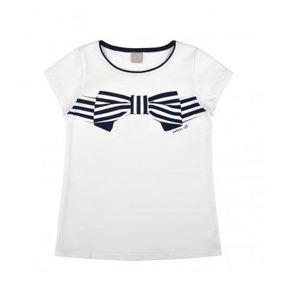 Wit shirt Summer Chic maat 128-140