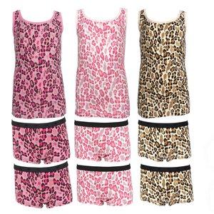 Ondergoed met luipaardprint meisjes maat 104, 110, 116, 122, 128, 134,