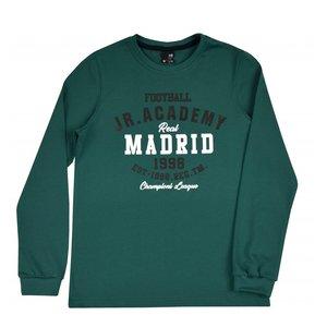 Groen jongensshirt maat 152 winter met print betaalbaar