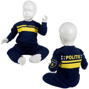 Politiepyjama's maat 62, 92 en 98