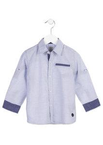 Lichtblauw Overhemd.Overhemd Wit Met Lichtblauw Mijn Ukkie Baby En Kind
