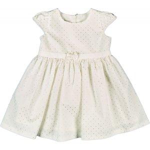 Offwhite ecru creme zomerjurkje meisje baby
