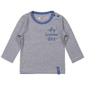 grijs gestreept shirtje Dirkje jongens 56 62 68