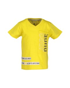 802138 Blue seven geel t-shirts jongens