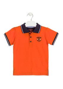 Oranje jongenspolo Losan zomer maat 92, 98, 104, 110, 116 en 122
