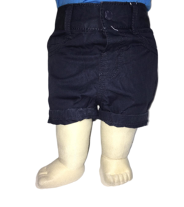 Blauwe bermuda korte jongensbroek baby Losan