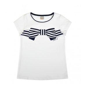 Wit met blauw shirt meisjes maat 128, 134, 140, 146, ATUT