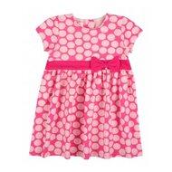 jurkje met dots roze 74 80 86 92